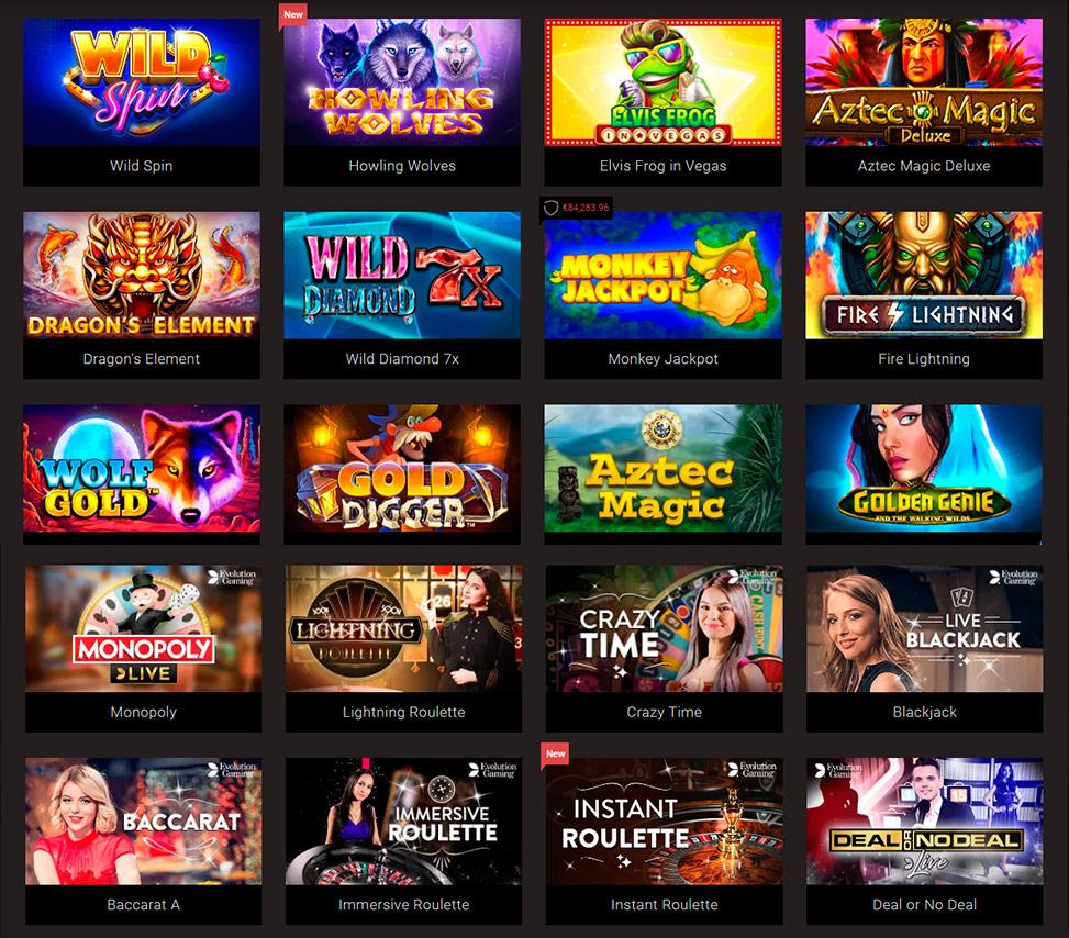 Bonusweb casino